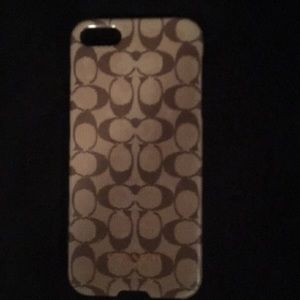 Coach cell phone cover